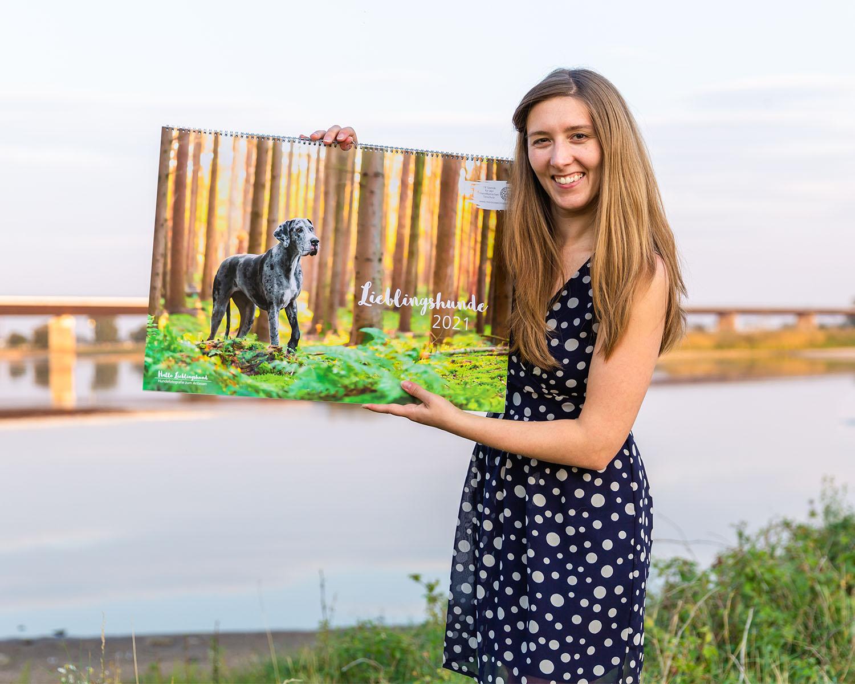 Vorstellung Hundekalender 2021 - Kalender mit Spende für den Tierschutz